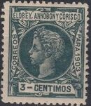 Elobey, Annobon and Corisco 1903 King Alfonso XIII e