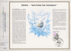 France 1986 Minerals FOLg