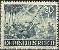 Germany-Third Reich 1943 Armed Forces and Heroes Day h