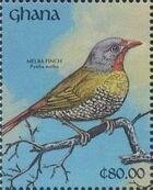 Ghana 1991 The Birds of Ghana a
