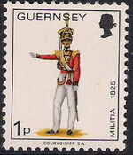 Guernsey 1974 Military Uniforms Definitive Issue b