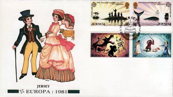 Jersey 1981 EUROPA g