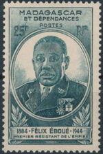Madagascar 1945 Felix Eboue b