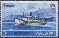 Malawi 1967 Steamers on Lake Malawi d