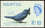 Mauritius 1965 Birds in Natural Colors o