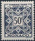 Monaco 1946 Postage Due Stamps c