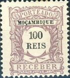 Mozambique 1904 Postage Due Stamps g
