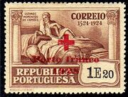 Portugal 1928 Red Cross - 400th Birth Anniversary of Camões e