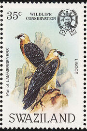 Swaziland 1983 WWF Bearded Vulture c