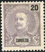 Zambezia 1898 D. Carlos I e