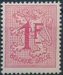 Belgium 1951 Heraldic Lion (1st Group) k
