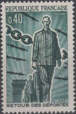 France 1965 20th Anniversary of the Return of Deportees a