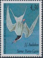 France 1995 Birds by J.J. Audubon c
