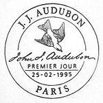 France 1995 Birds by J.J. Audubon qb