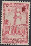 French Somali Coast 1938 Definitives d