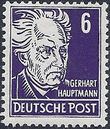Germany DDR 1952 Famous People b