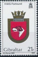Gibraltar 1984 Royal Navy Crests 3rd Group b