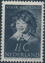 Netherlands 1937 The Laughing Child after Frans Hals a