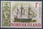 Norfolk Island 1967 Ships - Definitives (1st Issue) a