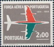 Portugal 1965 50th Anniversary of the Portuguese Air Force b