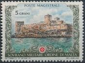 Sovereign Military Order of Malta 1972 Old Castles a