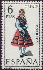 Spain 1969 Regional Costumes Issue k