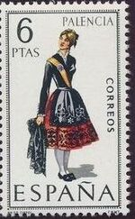 Spain 1970 Regional Costumes Issue a