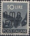 Trieste-Zone A 1947 Democracy (Italy Postage Stamps of 1945 Overprinted) i