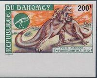 Dahomey 1974 Prehistoric Animals f