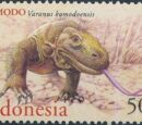 Indonesia 2000 WWF Komodo Dragon