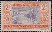 Mauritania 1913 Pictorials p