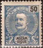 Mozambique 1898 D. Carlos I g