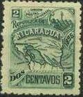 Nicaragua 1896 Map of Nicaragua b