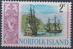 Norfolk Island 1967 Ships - Definitives (1st Issue) b