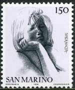"San Marino 1976 ""Civic Virtues"" e"