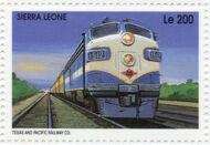 Sierra Leone 1995 Railways of the World g