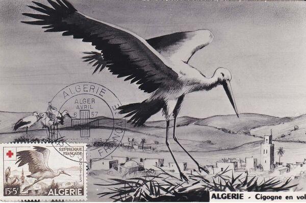 Algeria 1957 Red Cross MCf