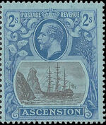 Ascension 1924 Seal of the Colony ka