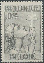 Belgium 1933 Anti Tuberculosis - Lorraine Cross a