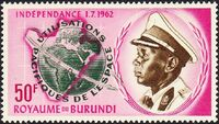 Burundi 1963 Conquest and peaceful use of outer space b