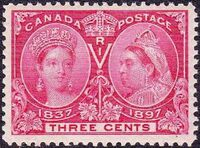 Canada 1897 60th Year of Queen Victoria's Reign d