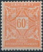 Dahomey 1914 Numerals g