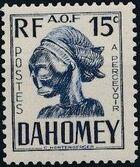 Dahomey 1941 Carved Mask c