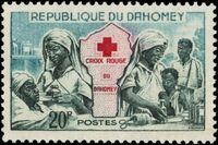 Dahomey 1962 Red Cross b