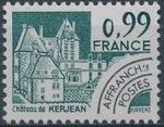 France 1980 Historic Monuments - Pre-cancelled (2nd Issue) b