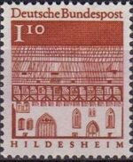 Germany, Federal Republic 1966 Building Structures from Twelve Centuries (1st Group) e