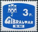 Gibraltar 1976 Postage Due Stamps b