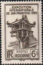Indo-China 1939 International Exhibition - San Francisco a