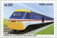 Sierra Leone 1995 Railways of the World 3c