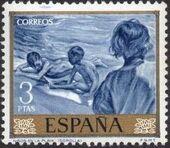 Spain 1964 Painters - Joaquin Sorolla y Bastida h
